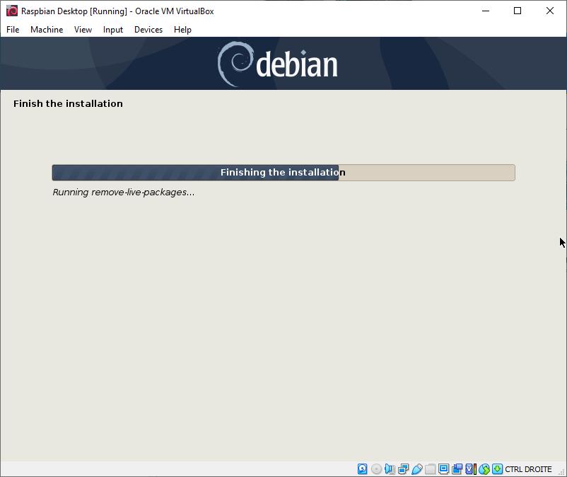 Raspbian Desktop - Finish the Installation
