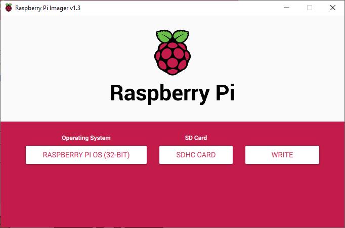 Raspberry Pi Imager with Raspberry Pi OS (Raspbian)