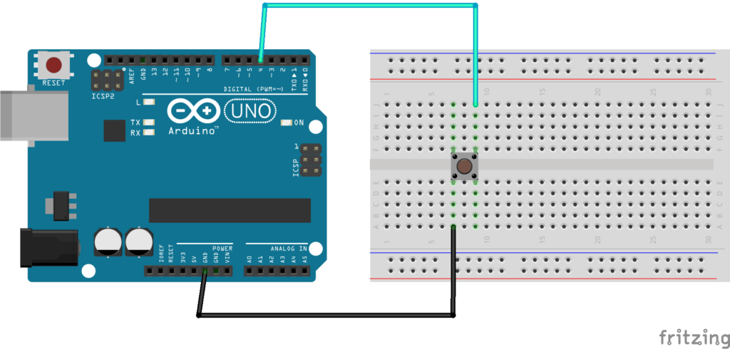 Arduino Push Button with INPUT_PULLUP